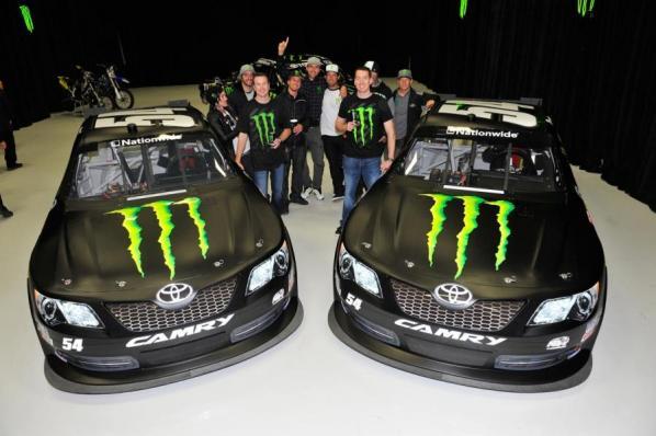 Kyle Busch Motorsports >> 2012 Monster Energy Kyle Busch Motorsports Announcement - Racer X Online