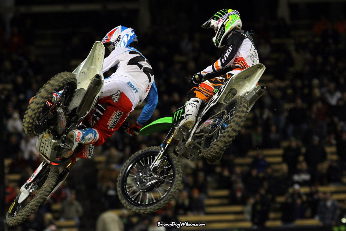 Chad Reed and Jake Weimer
