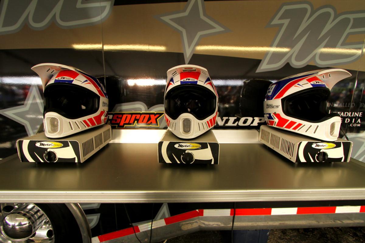 JT Racing helmets
