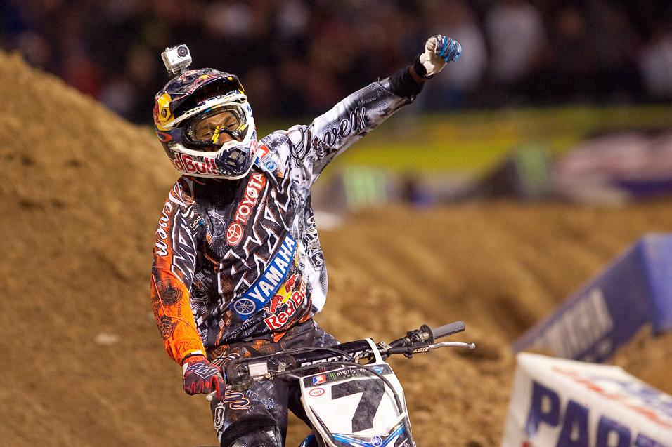 Racer X Outstanding  Performance: James Stewart