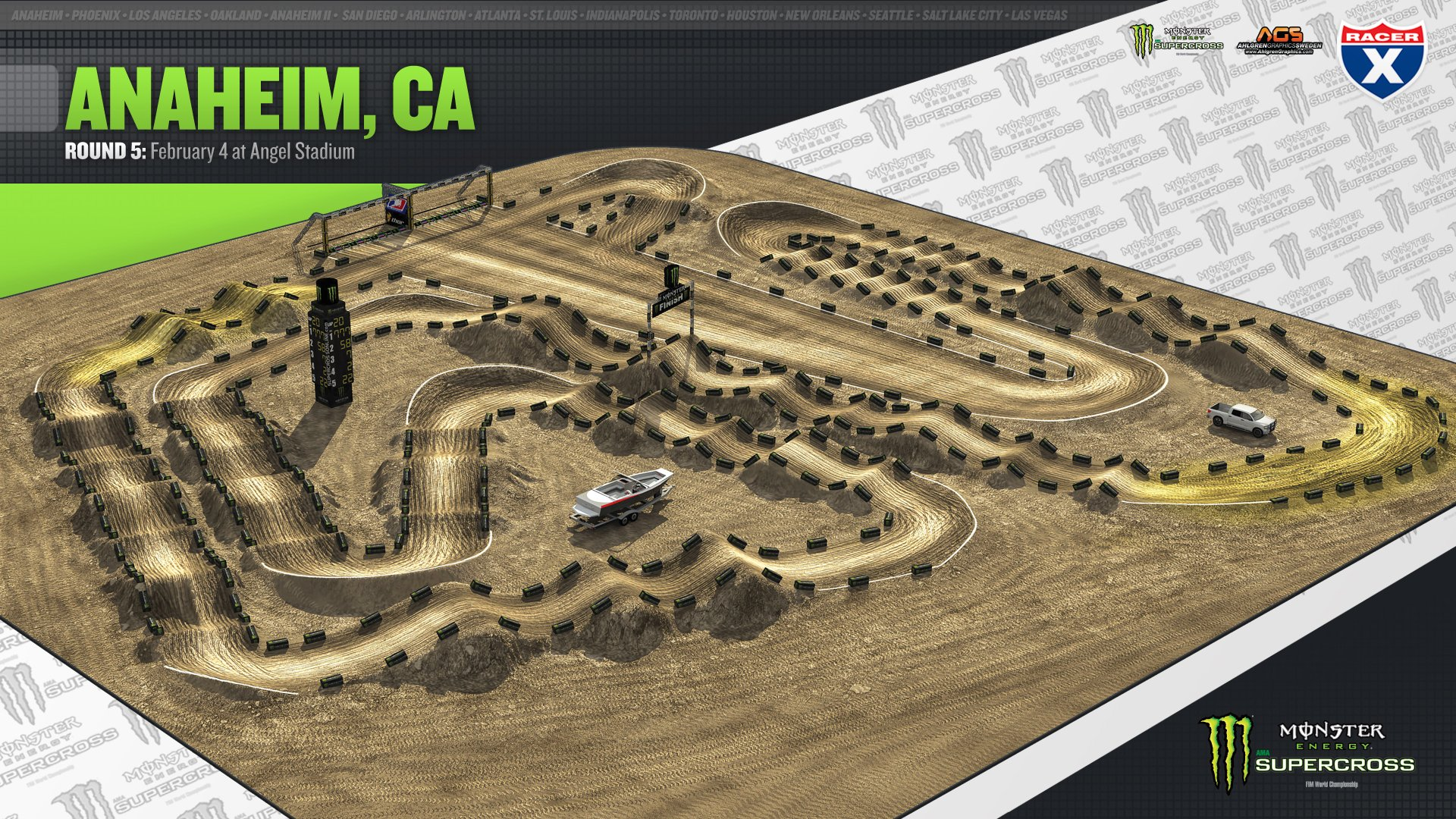 Supercross Track Layout Www Imgkid Com The Image Kid