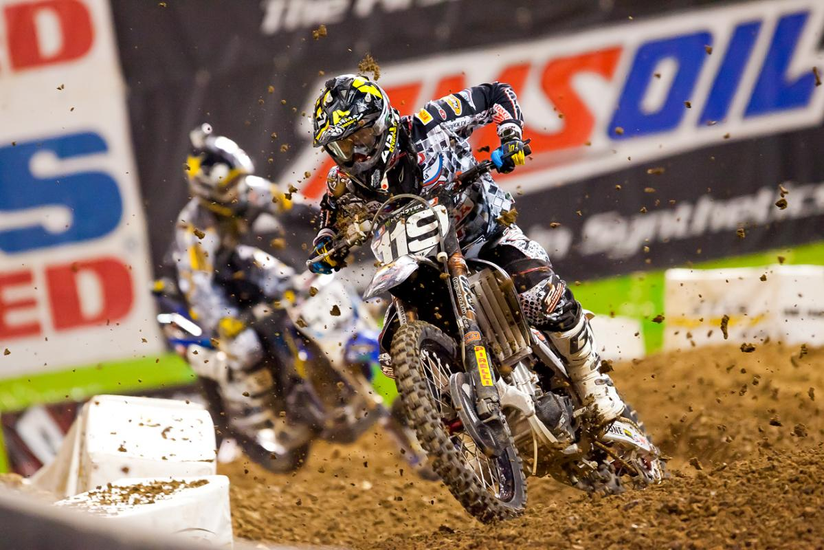 Max Anstie and Nico Izzi