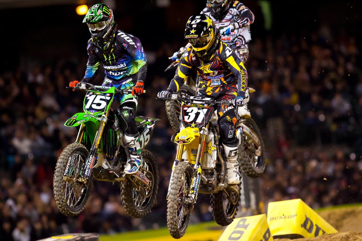 Another Martin Davalos holeshot.