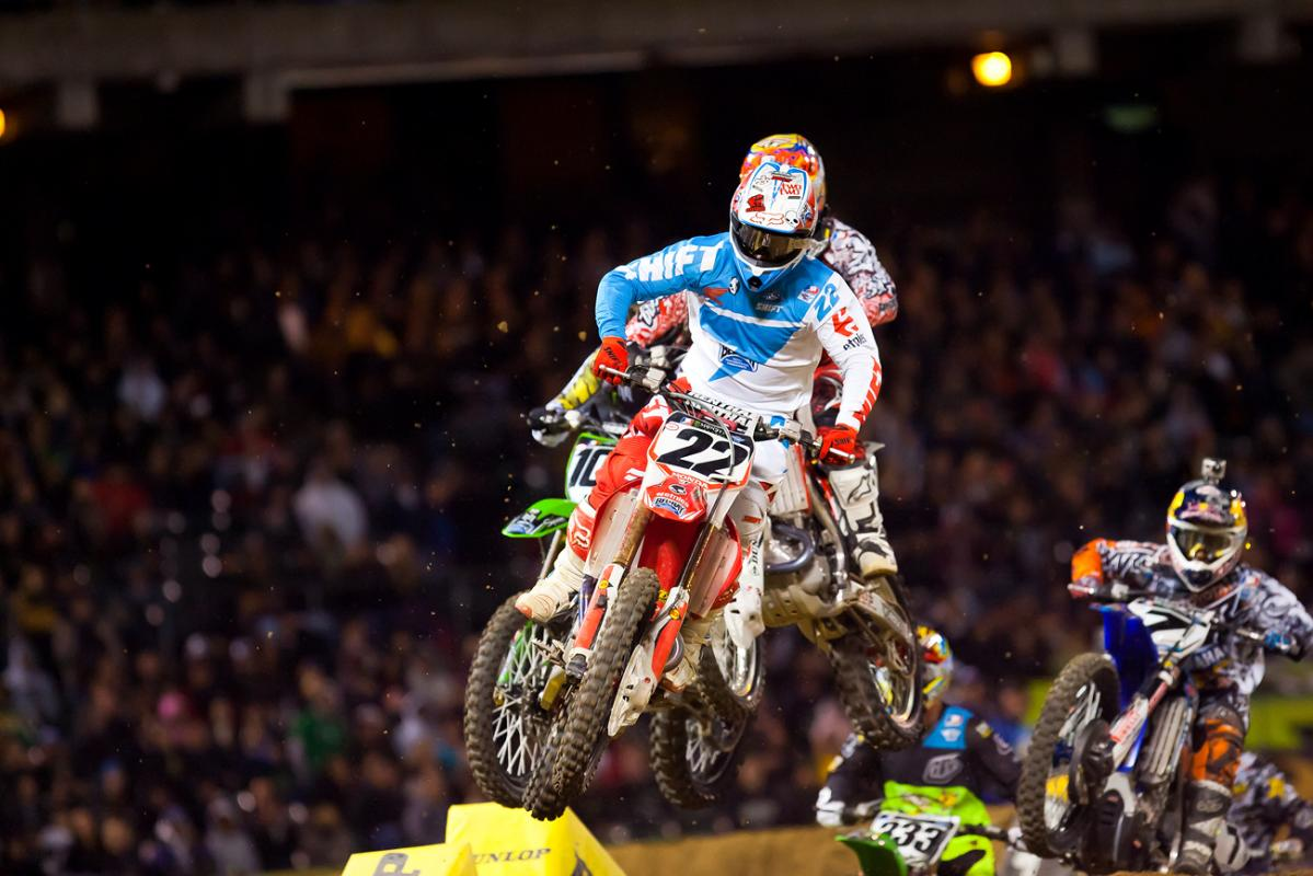 Chad Reed leads the field