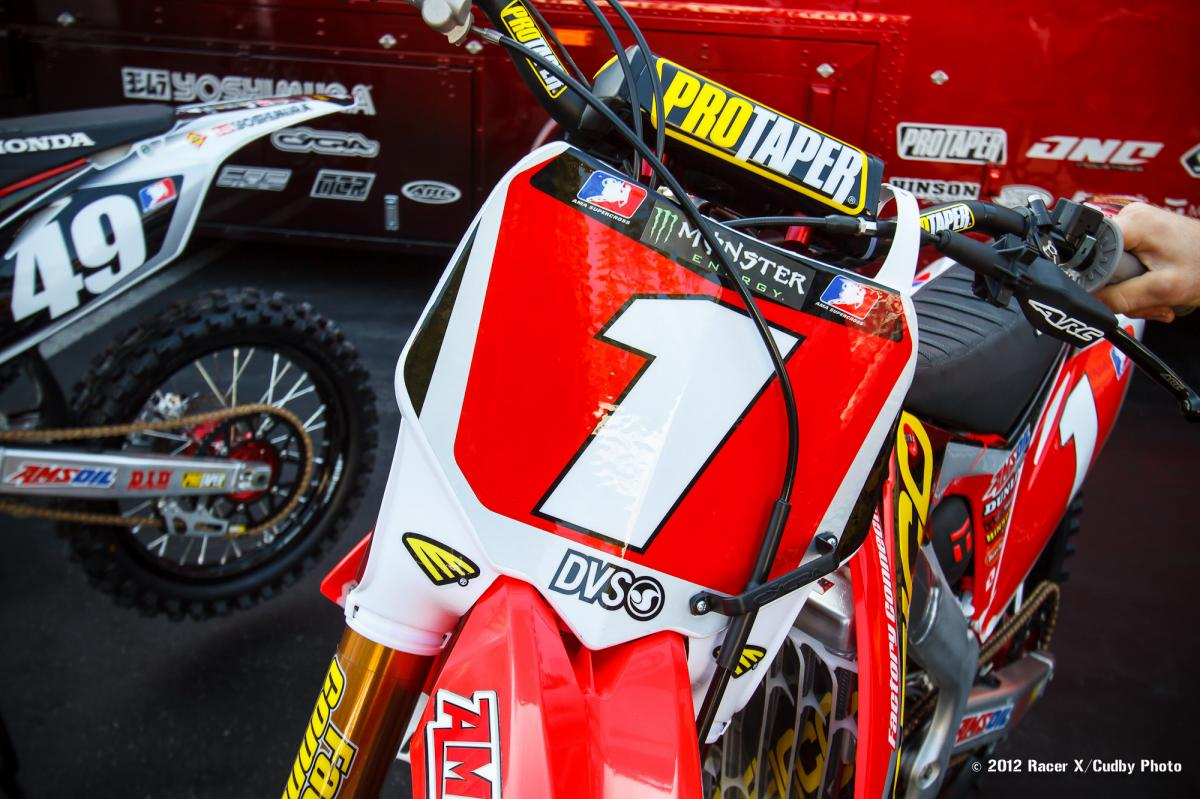 Barcia's #1 plate