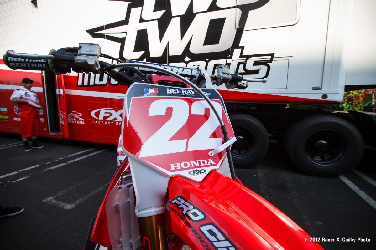 Chad's Honda CRF450R