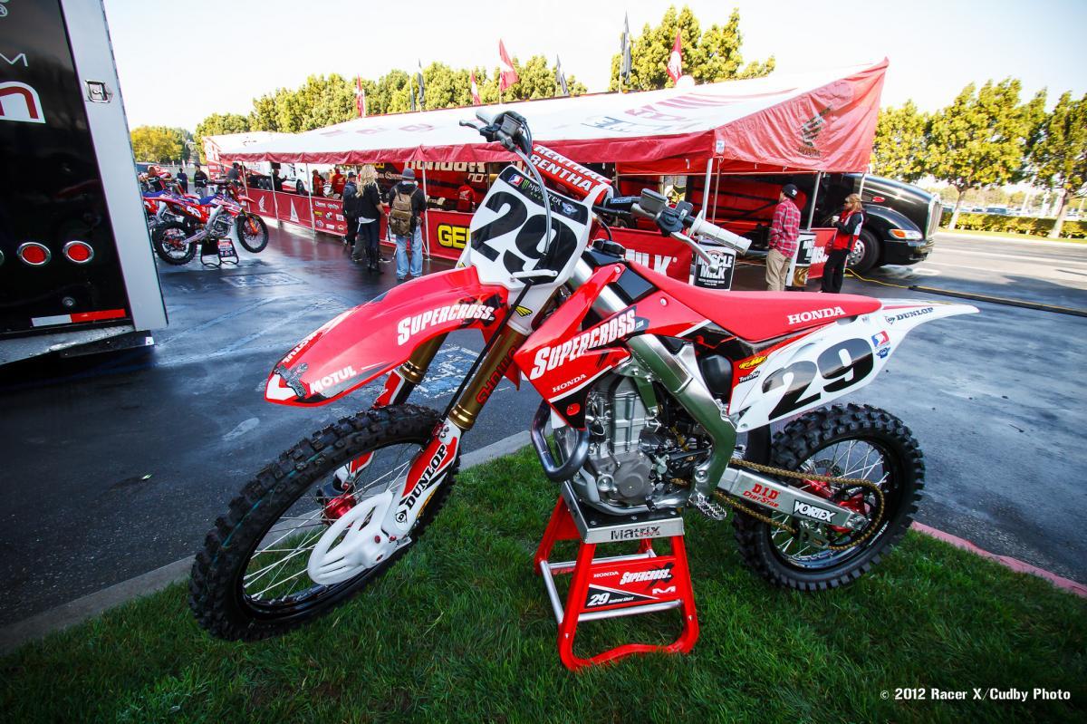 Andrew Short's Honda