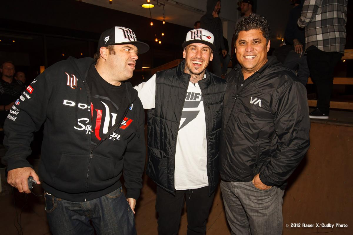 Mahoney, Carey Hart, and Dr.G