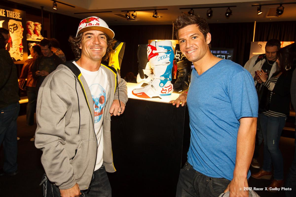 Ronnie Renner and Chad Reed