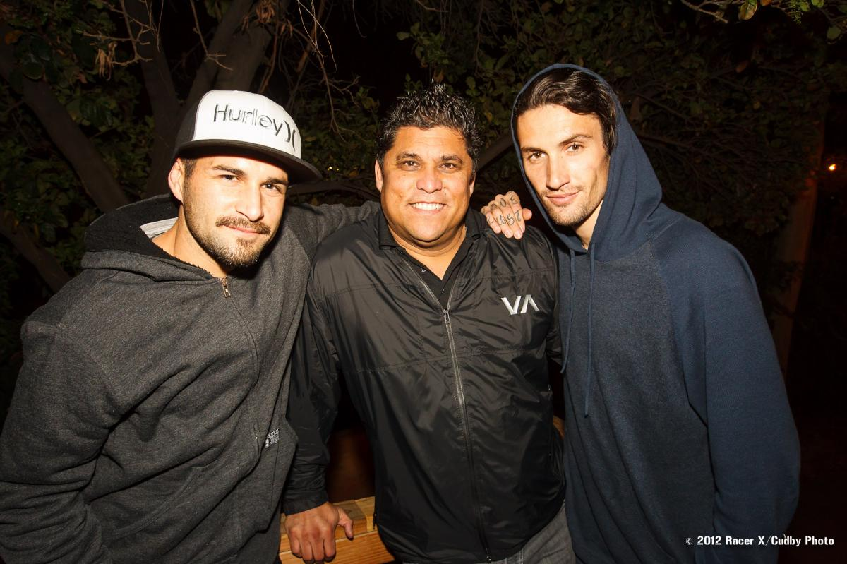 Ivan Tedesco, Dr.G, and Josh Hansen
