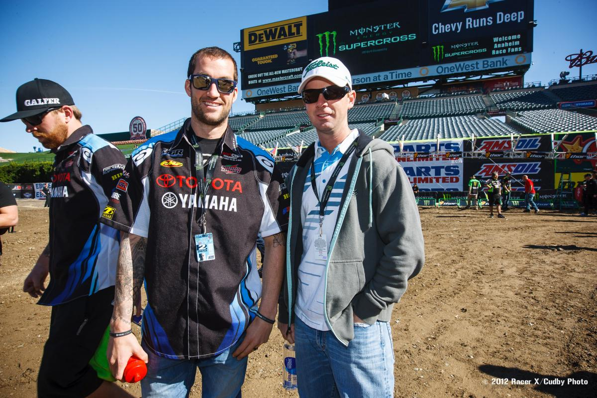 Davi Millsaps and Ezra Lusk
