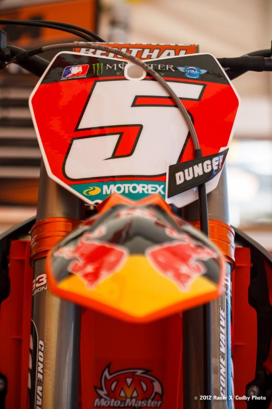 Dungey's red plate