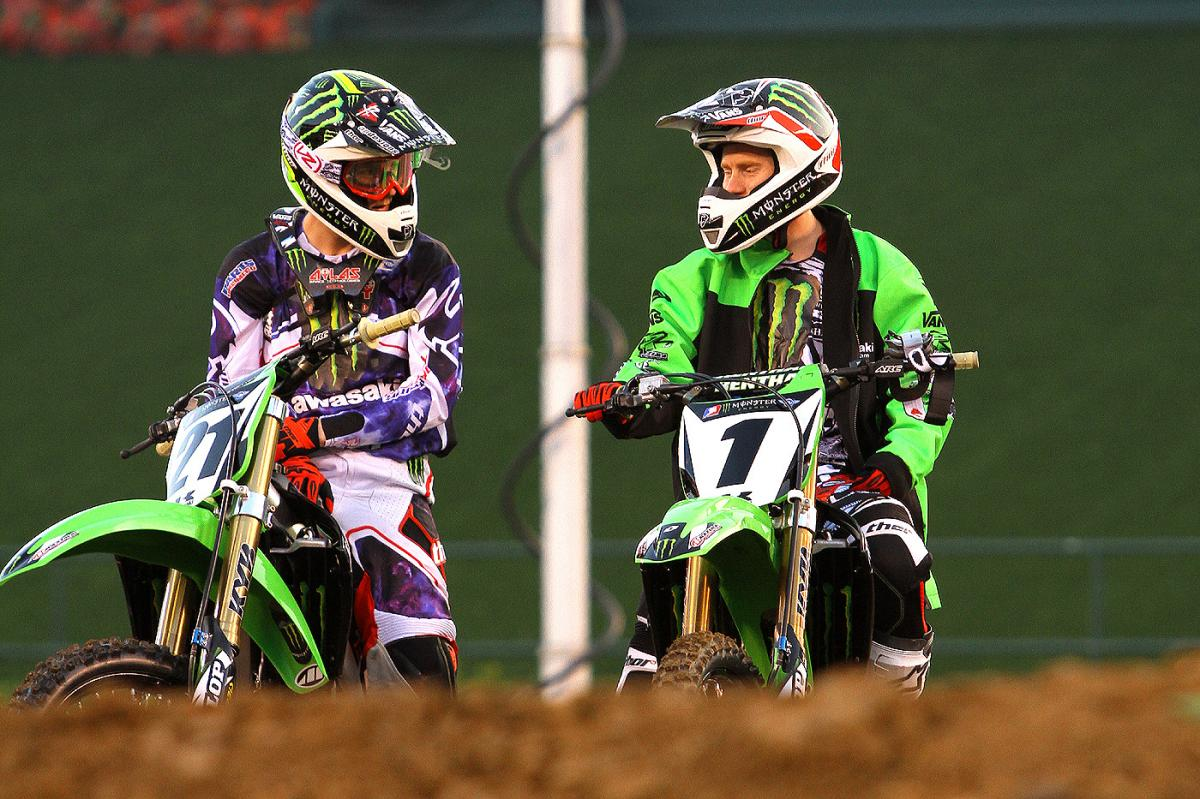 Jake Weimer and Ryan Villopoto