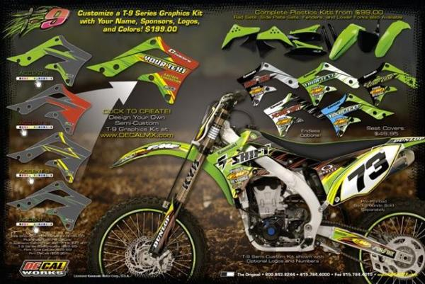 DeCal Works New T DeCal Kit Racer X Online - Decal works graphics