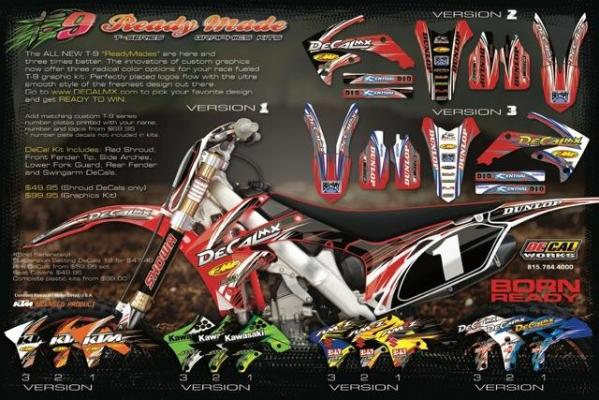 Graphics For Ready Made Kits Decal Works Graphics Www - Decal works graphics