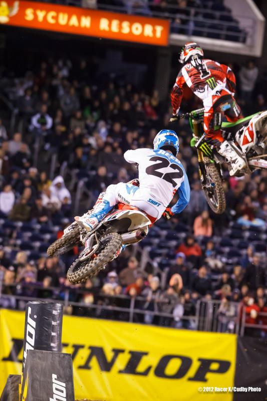 Reed chases Villopoto