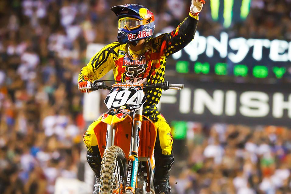 The List: Ten One-Time  Lites SX Winners