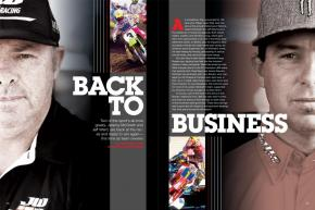As racers, they were and are indisputable legends. Now, Jeremy McGrath and Jeff Ward are back in the game, each hoping team ownership comes just as naturally. Page 200.