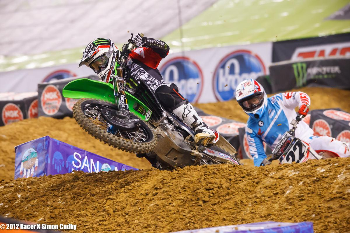 Villopoto and Reed