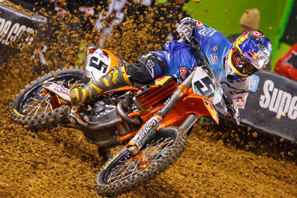 <strong>Going for the W:</strong><br /> Ryan Dungey