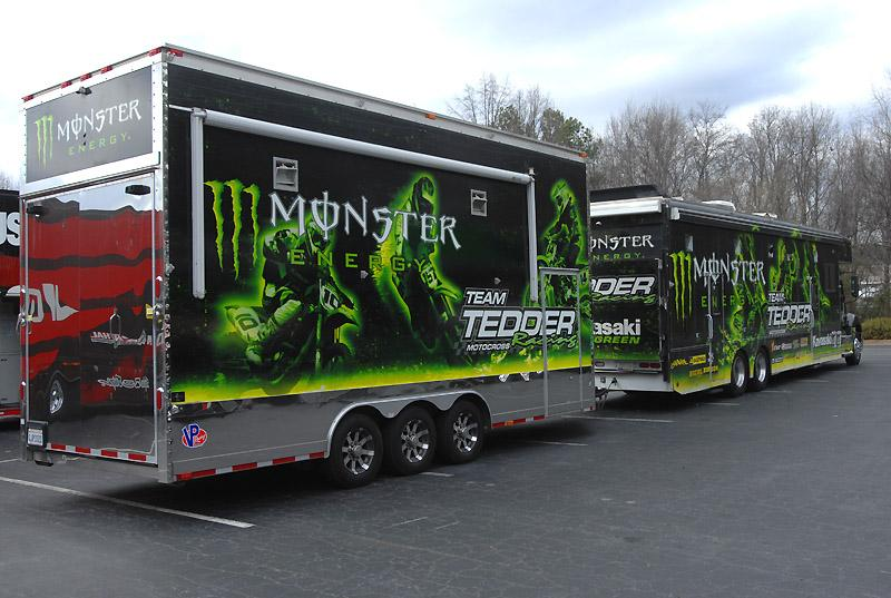 Team Tedder/Monster Energy Kawasaki
