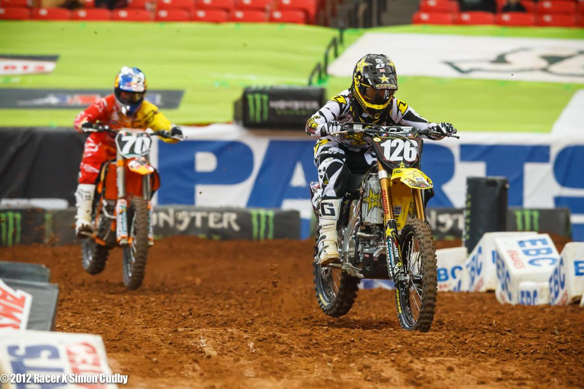 Hunter Hewitt and Ken Roczen