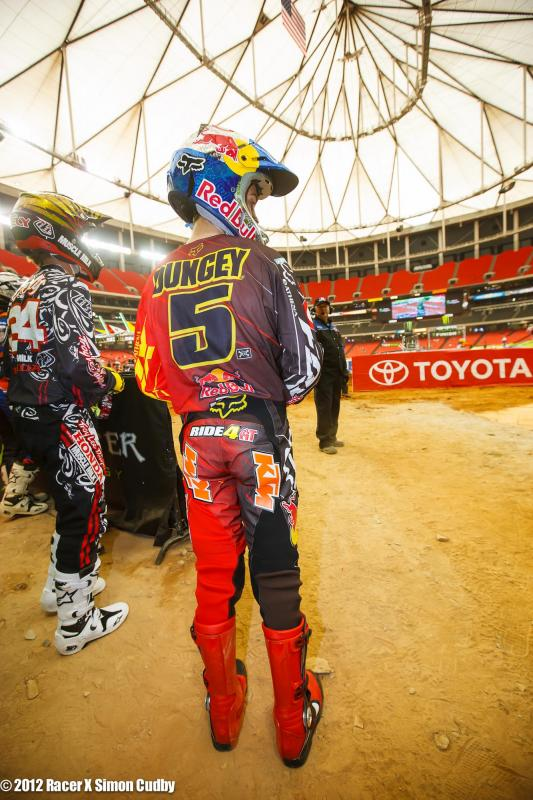 Ryan Dungey sporting the Ride 4 AT butt patch.