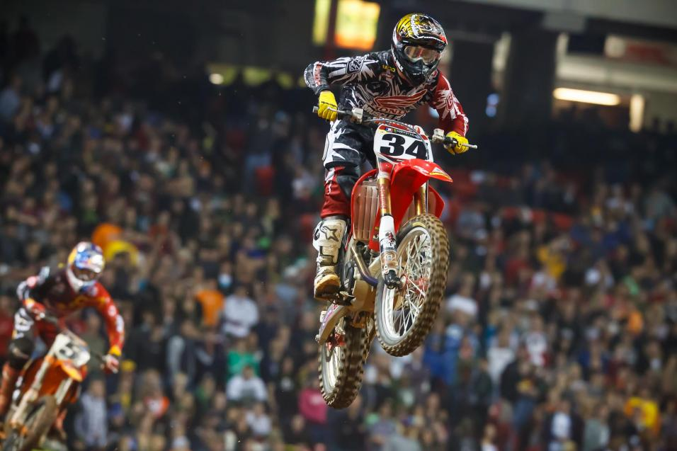 Racer X Outstanding<br /> Performance: Cole Seely
