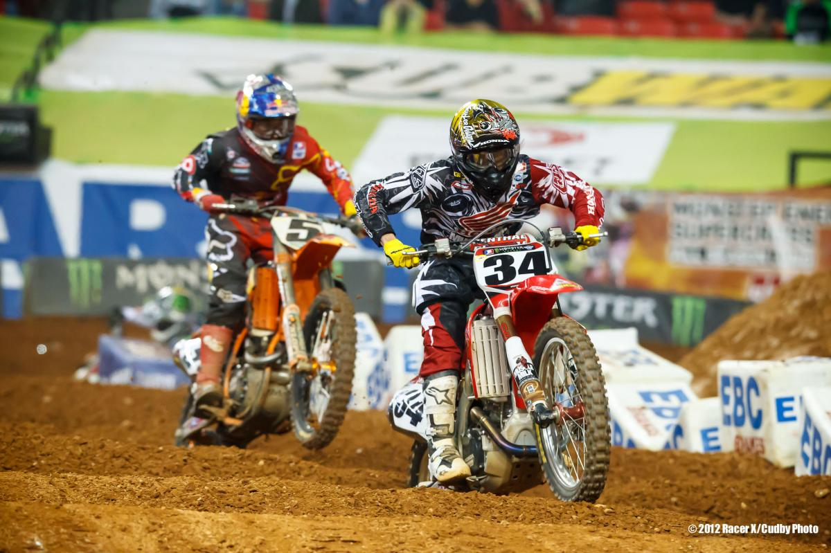 Dungey chases Seely