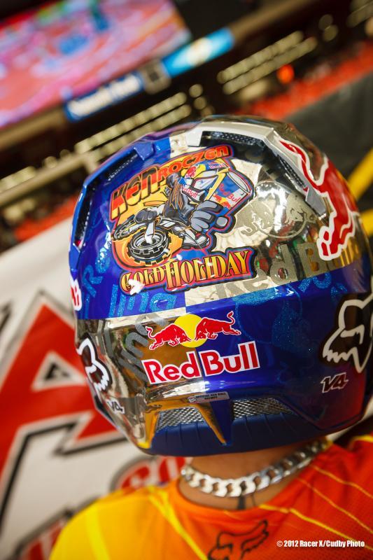 Roczen's helmet