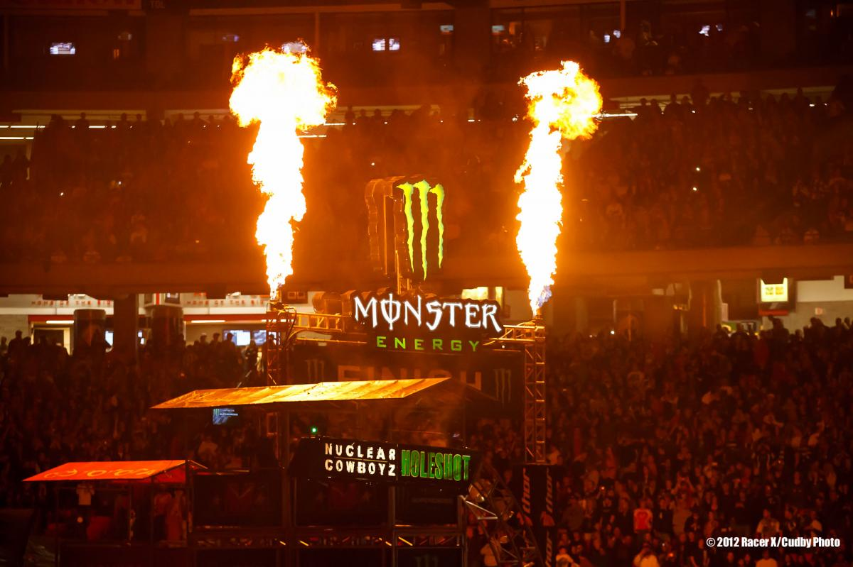 Monster flames
