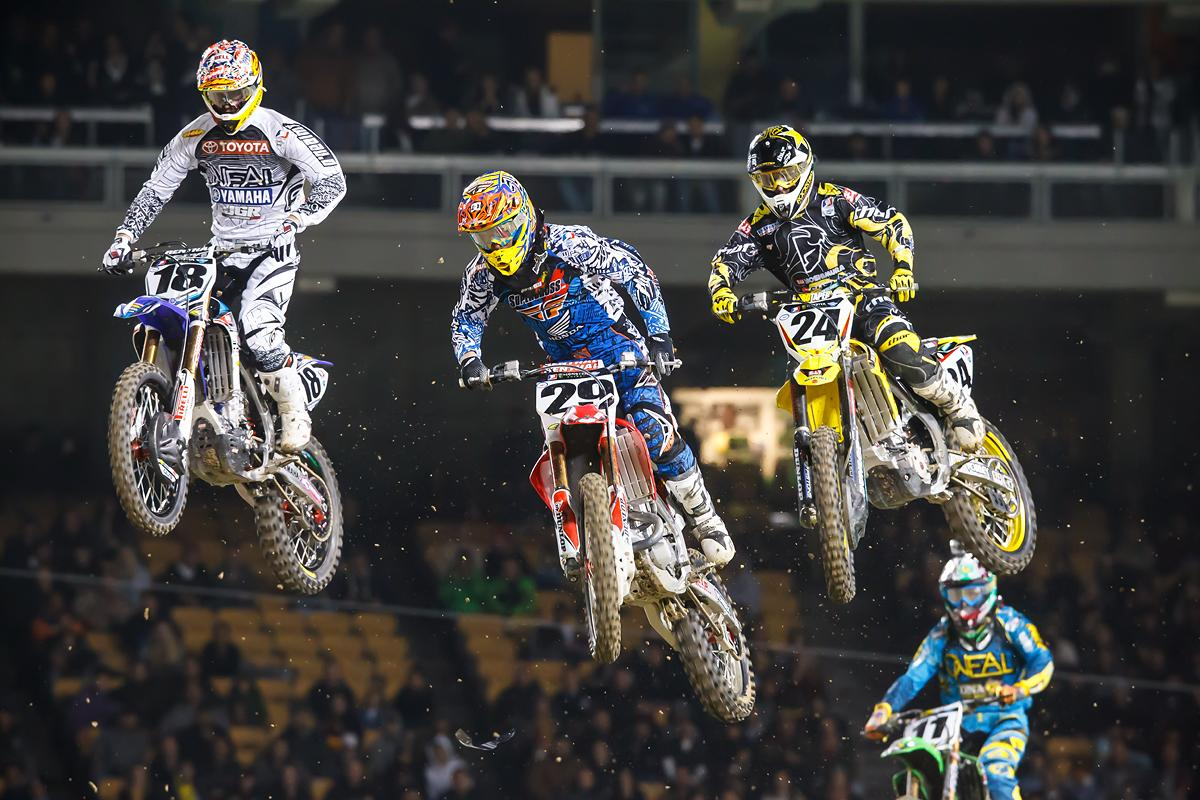 In a battle with Millsaps and Metty at L.A.