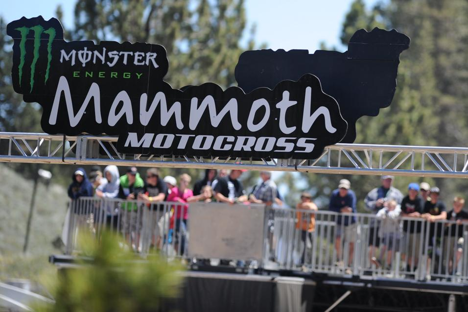 Between the Motos:  Mammoth's Mike Colbert