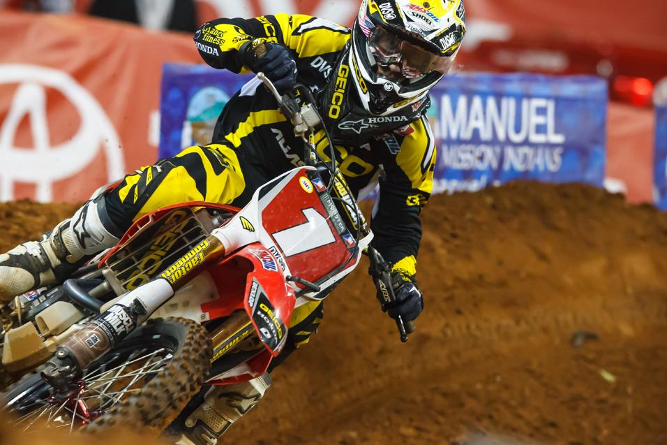 Going for the W:  Justin Barcia
