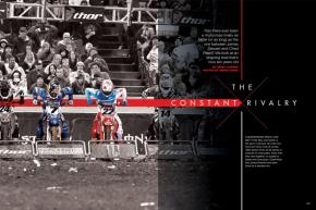 No rivalry in our sport has been so heated for so long as the one between Chad Reed and James Stewart, two all-time greats who have been at it since day one: January 5, 2002. Page 166.