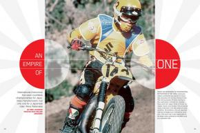 Japan makes most of the world's motocross bikes, but only one Japanese rider has gone on to become an international champion. We catch up with the great Akira Watanabe. Page 178.