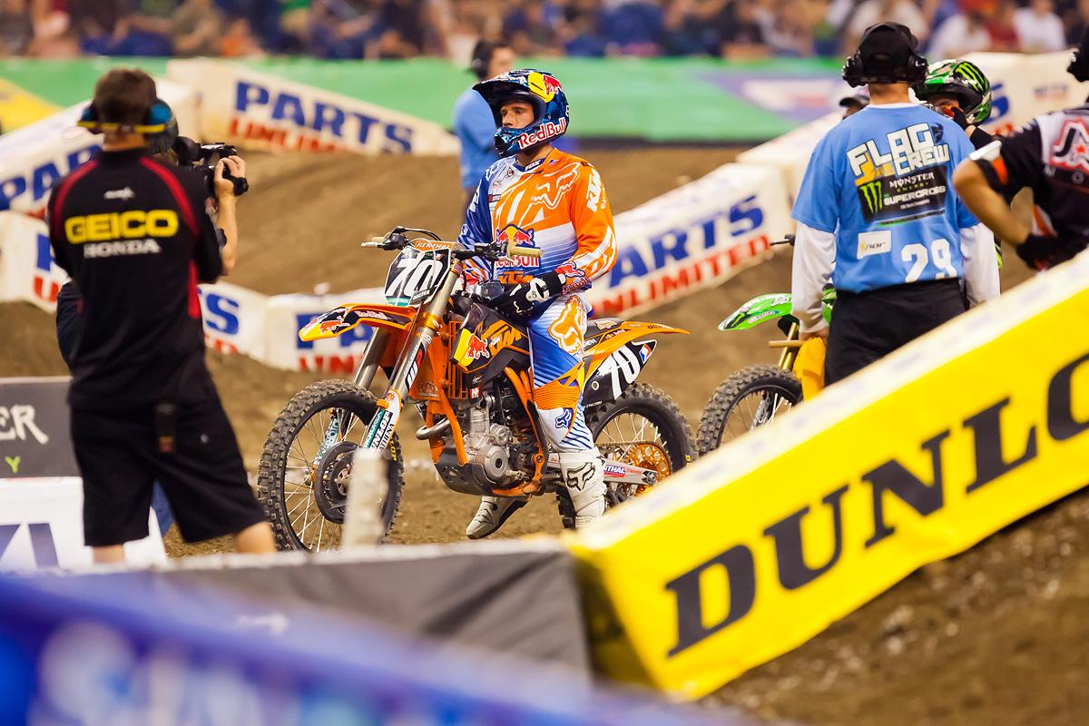 Ken Roczen on the Restart