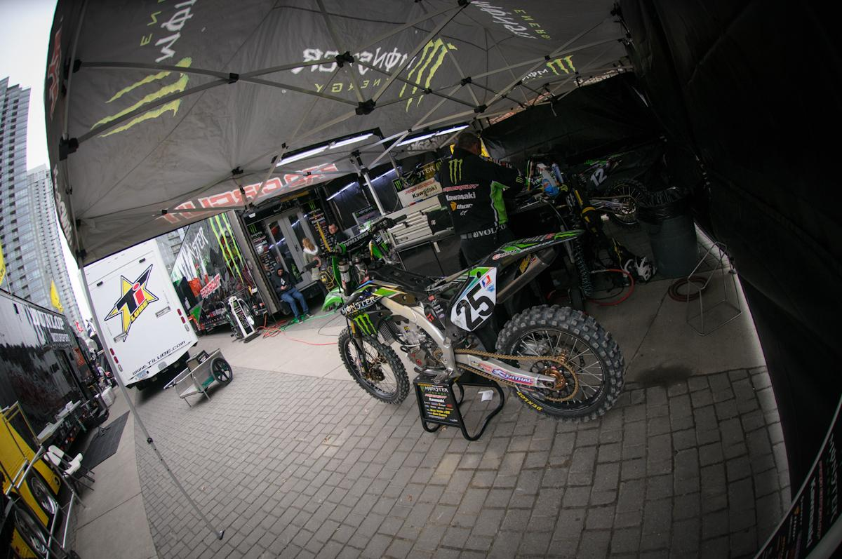Broc Tickle's bike