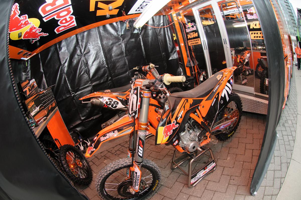 Ken Roczen's bike.