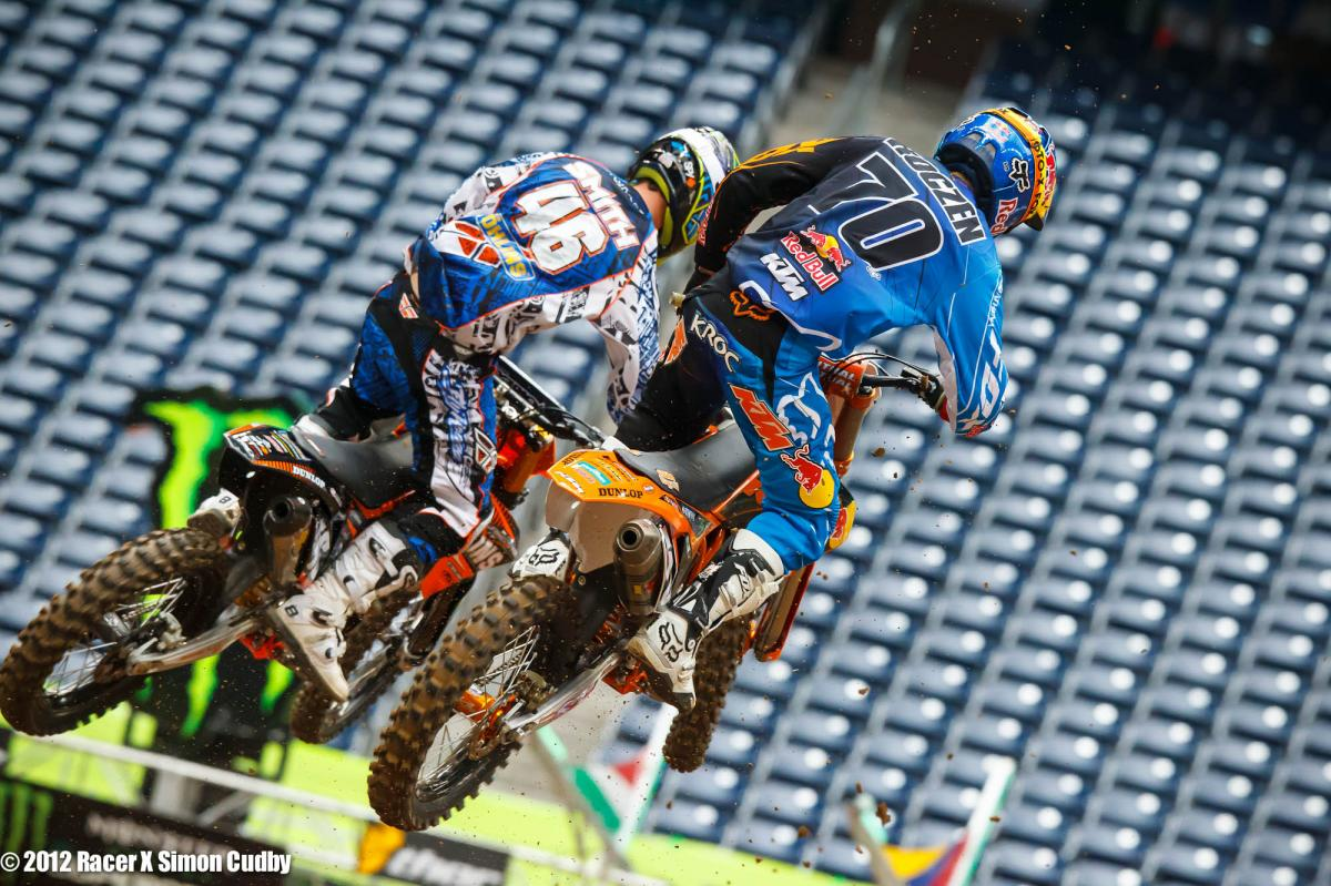 Les Smith and Ken Roczen