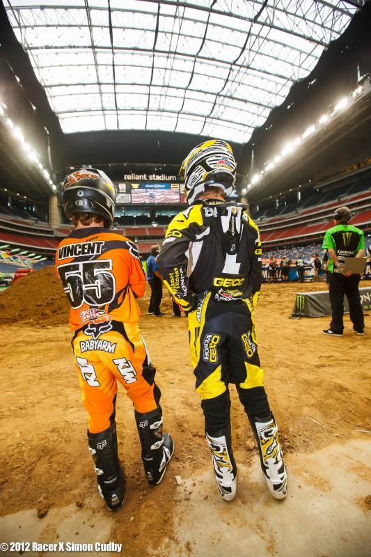 Lance Vincent and Justin Barcia