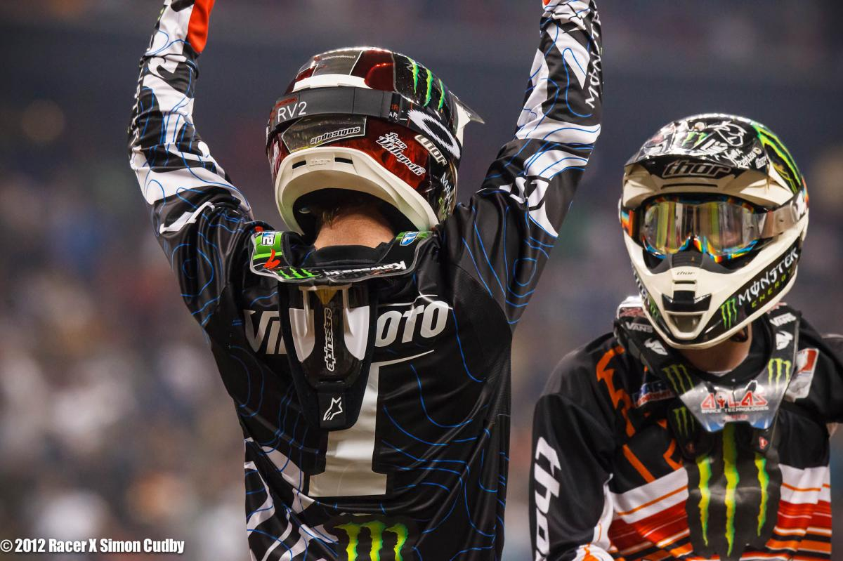 Ryan Villopoto and Jake Weimer