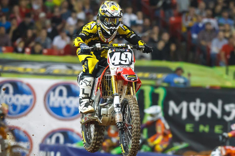 <strong>Between the Motos:</strong><br /> Justin Bogle