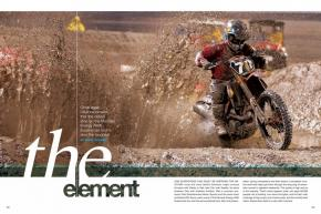 The Daytona Supercross by Honda is the oldest race on the professional supercross tour. In 2012, it once again proved to be the roughest as well. Page 118.