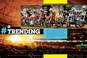 As the 2012 Monster Energy Supercross Series reaches the home stretch, Ping steps back, takes it all in, and picks out major trends both good and bad. Page 158.