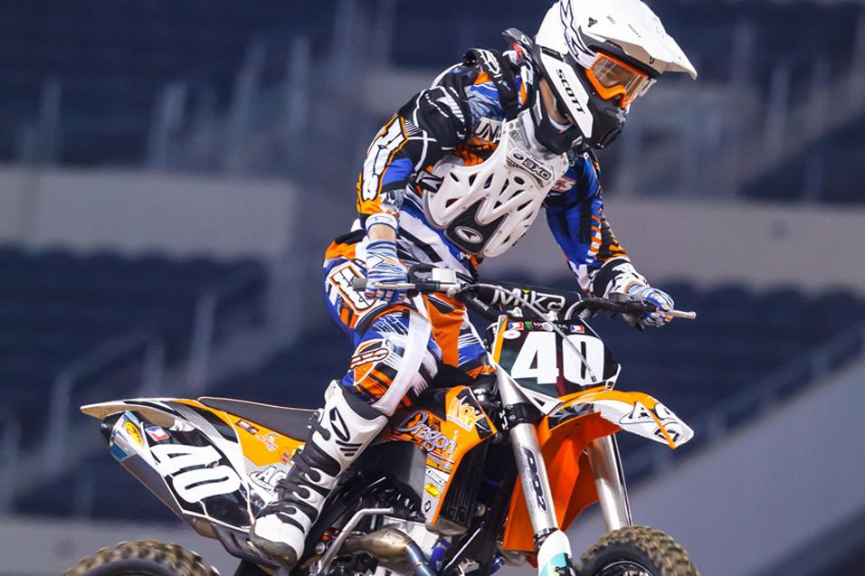 Between the Motos:  Gannon Audette