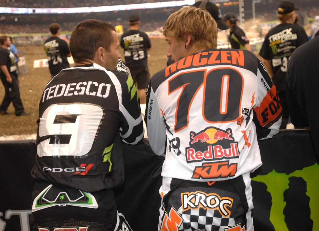 Ivan Tedesco and Ken Roczen
