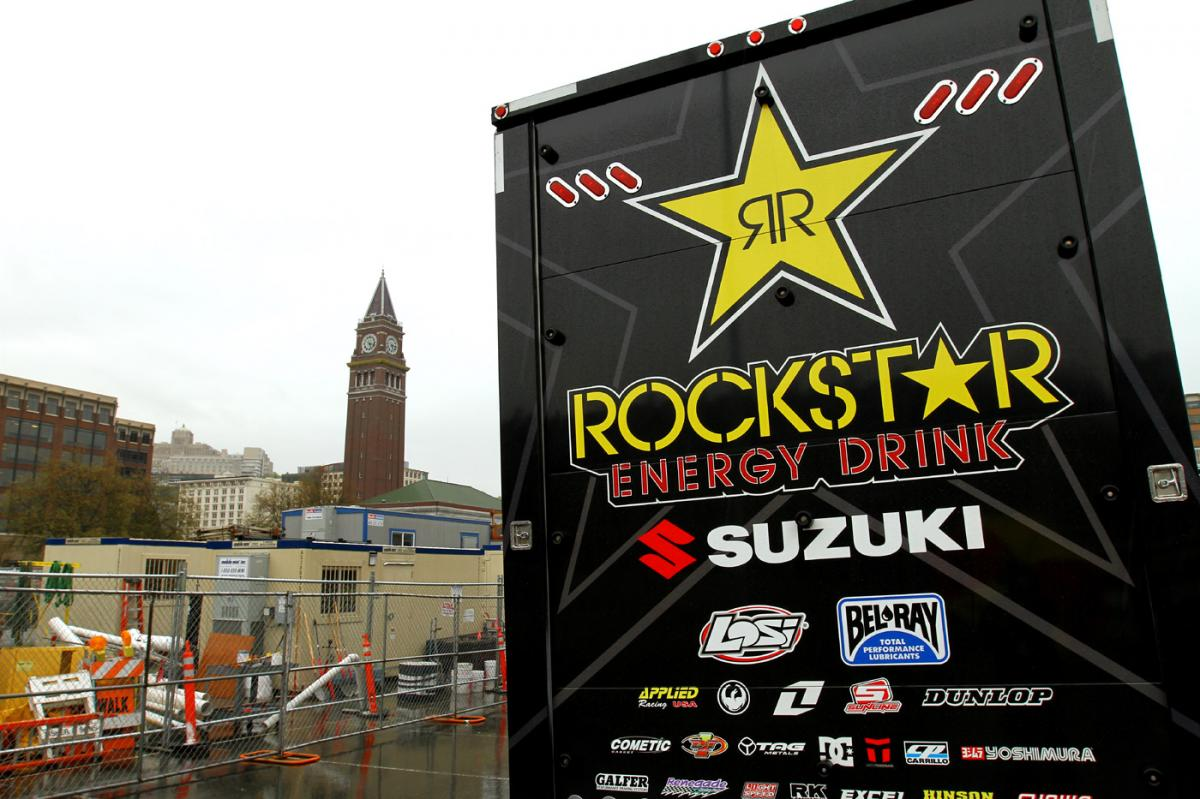 Rockstar Energy Racing Suzuki