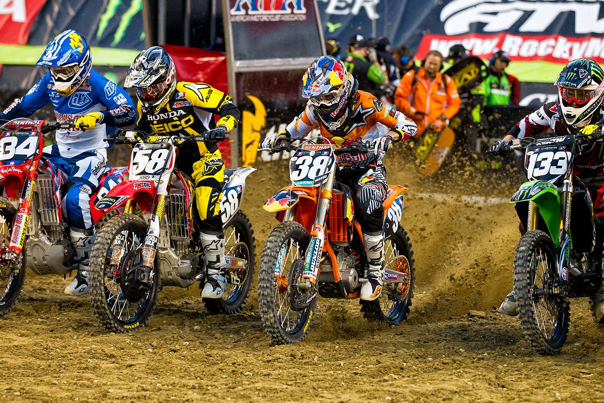 Cole Seely, WIl Hahn, Marvin Musquin, Myles Tedder