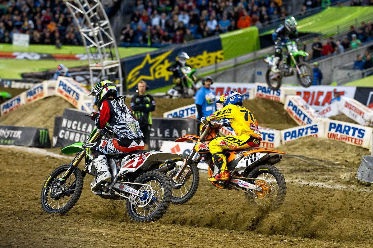 Ryan Villopoto and Ken Roczen